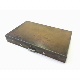 【PICUS】BRASS BOX CARDCASE+  RUST