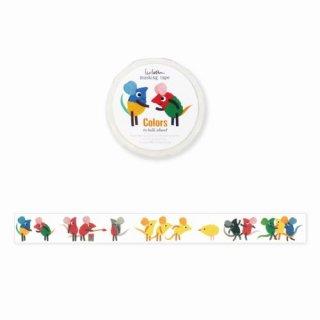 【表現社】レオ・レオニ マスキングテープ colors to talk about