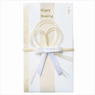 【マークス】ご祝儀袋 結婚祝・リボン/金封  ホワイト