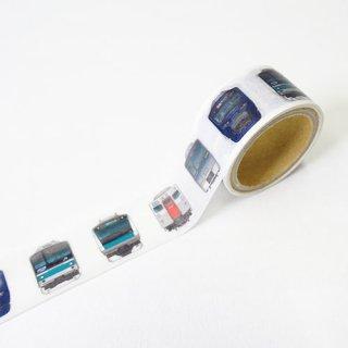【トレニアート】相鉄線×埼京線 マスキングテープ 電車の顔