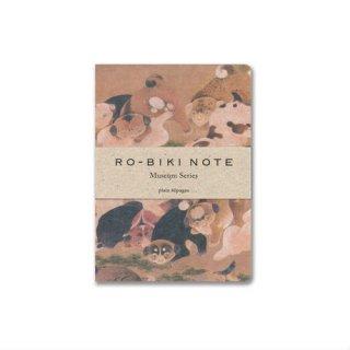 【山本紙業】RO-BIKI NOTE MUSEUM SERIES(HYAKKENZU)