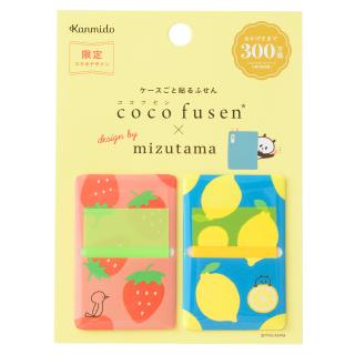 【カンミ堂】ココフセン×mizutama いちごとレモンL