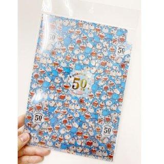 【ショウワノート】ドラえもん  A5 3ポケットクリアファイル (A ブルー)