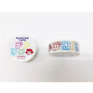 【学研ステイフル】 OSAMU GOODS マスキングテープ15W(FACE)