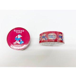 【学研ステイフル】 OSAMU GOODS マスキングテープ15W(RED)