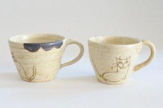 ねこマグカップ(平野照子)