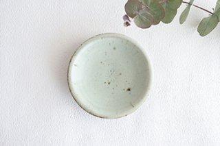 豆皿/青白(廣川温)