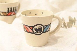 ミニマグカップ / ドリーマー / 猫 - 北村陶房 -