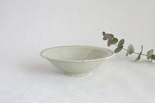 6寸鉢 / 青白 - 廣川 温 -