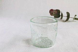 うす泡 ロックグラス - 吹きガラス工房 一星 -