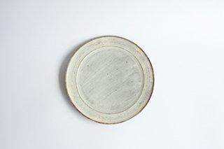 9寸 / 三島手 / プレート / リム小 - マノメ タカヒロ -