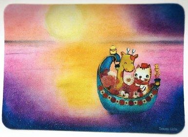 「花舟」 マウスパッド