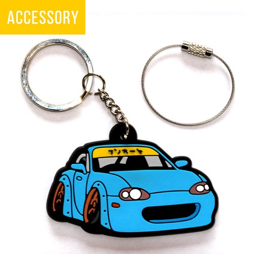 The Ken Auto original rubber key chain NB - kenautojapan