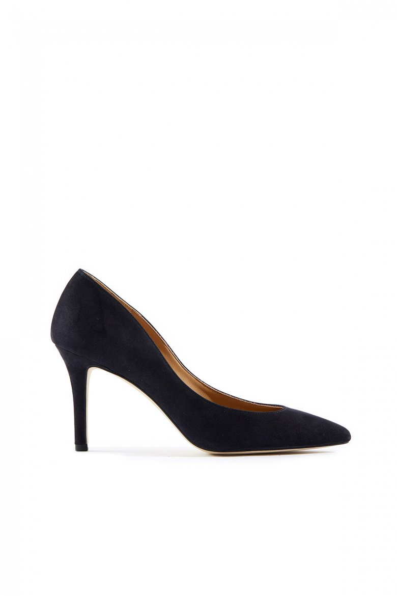 THE POINTED PUMPS 85(NAVY)