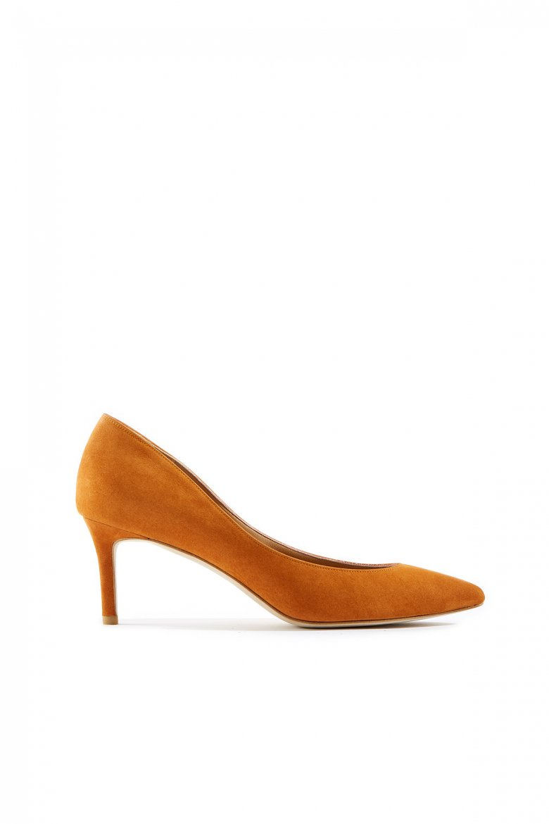 THE POINTED PUMPS 65(PERSIMMON)