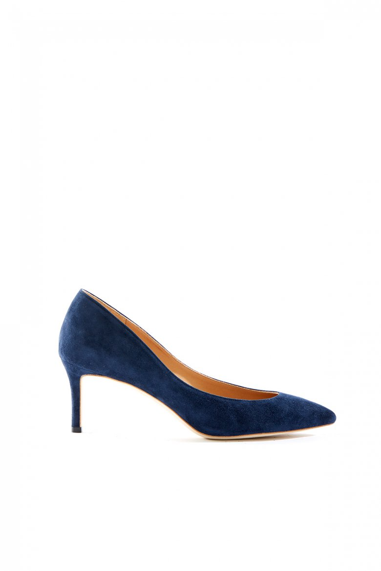 THE POINTED PUMPS 65(NAVY)
