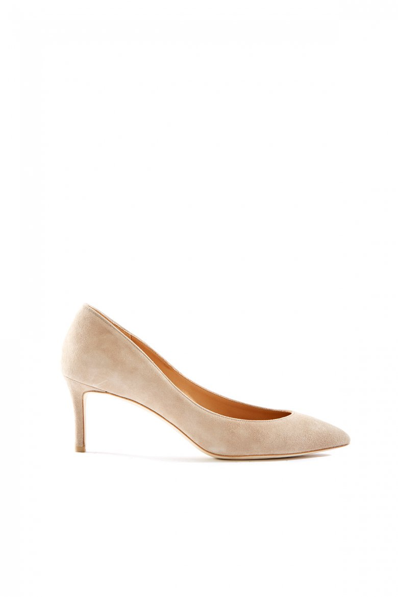 THE POINTED PUMPS 65(SAND)