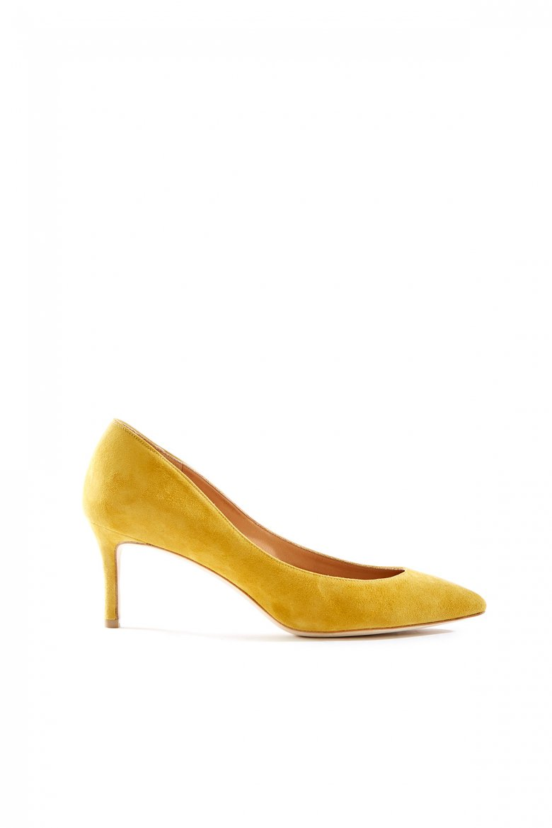 THE POINTED PUMPS 65(YELLOW)