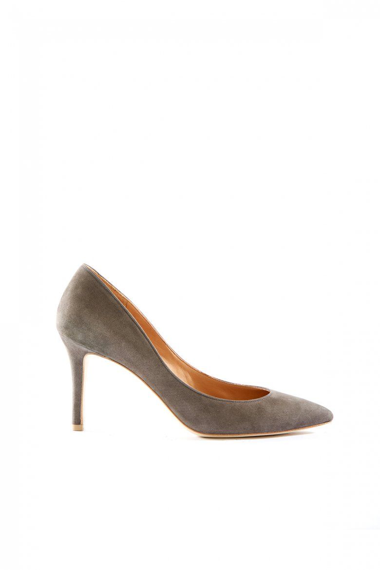 THE POINTED PUMPS 85(GREY)