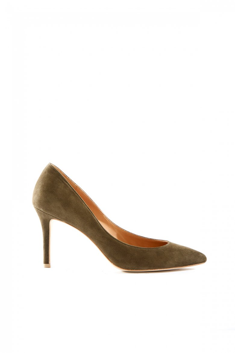 THE POINTED PUMPS 85(OLIVE)