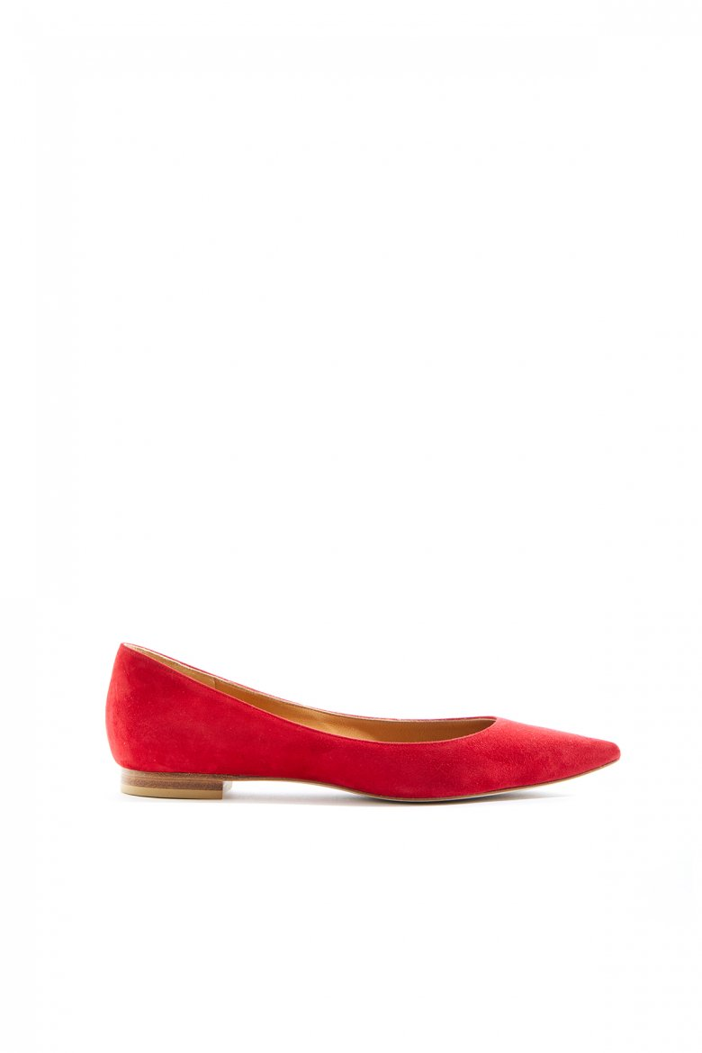 THE FLAT POINTED(VIVID RED)