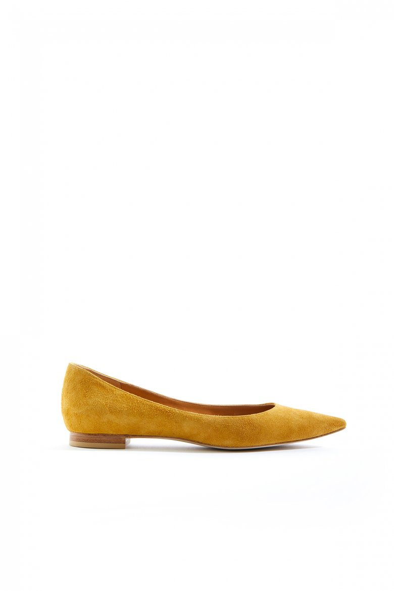 THE FLAT POINTED(MUSTARD)