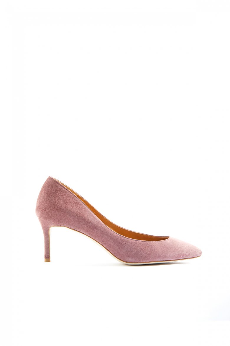 THE POINTED PUMPS 65(SMOKE PINK)