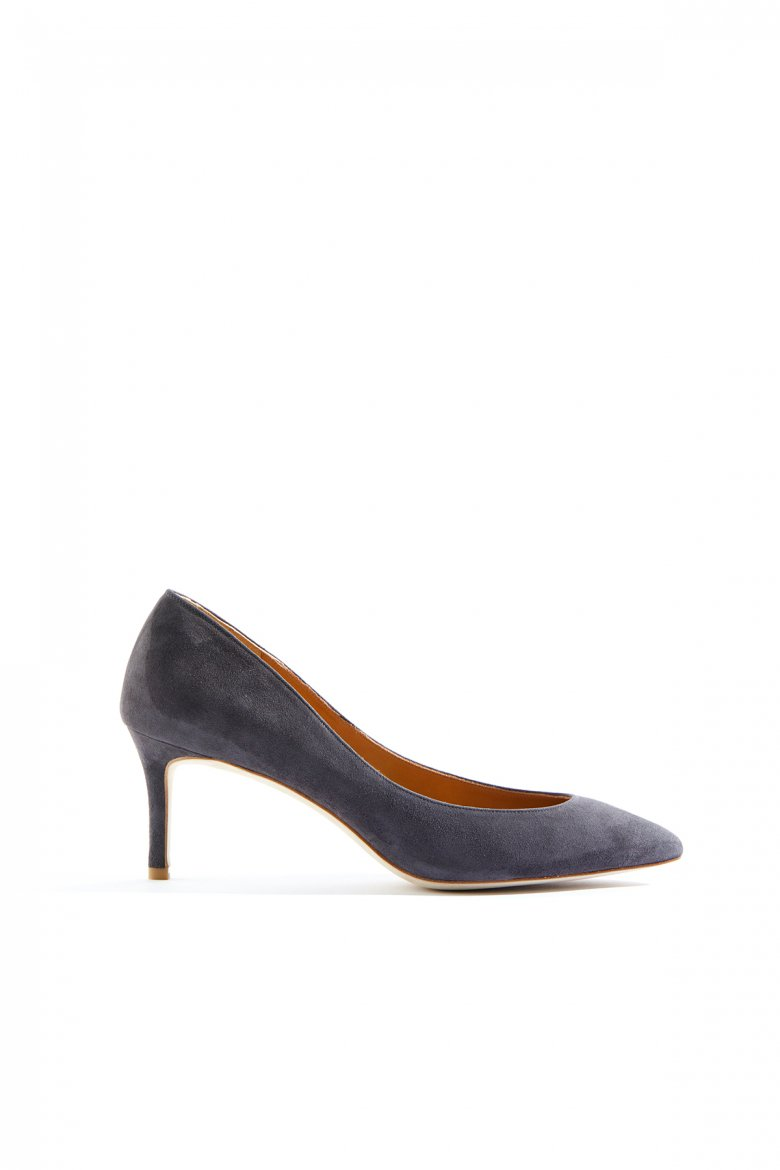 THE POINTED PUMPS 65(GREY)