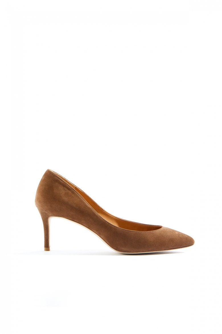 THE POINTED PUMPS 65(WOOD)