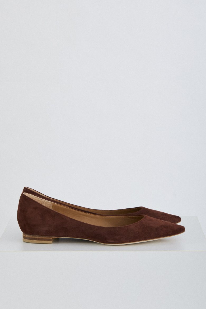 THE FLAT POINTED(MAROON)