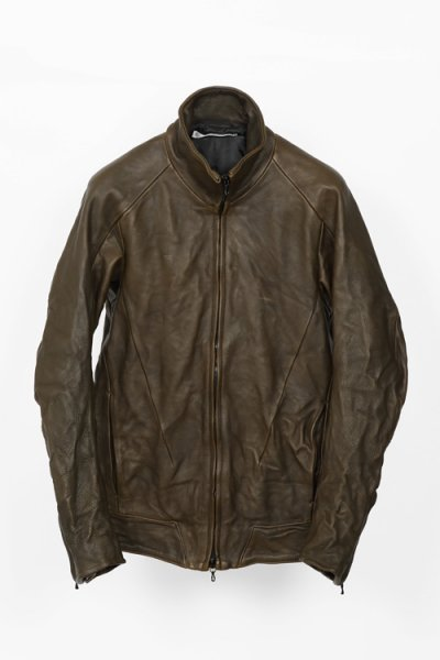 <img class='new_mark_img1' src='//img.shop-pro.jp/img/new/icons20.gif' style='border:none;display:inline;margin:0px;padding:0px;width:auto;' />【40%OFF】LEATHER TRACK JACKET