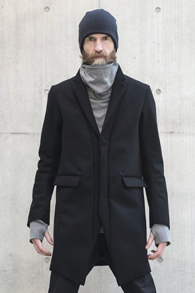 <img class='new_mark_img1' src='//img.shop-pro.jp/img/new/icons2.gif' style='border:none;display:inline;margin:0px;padding:0px;width:auto;' />CLEARED CHESTERFIELD COAT