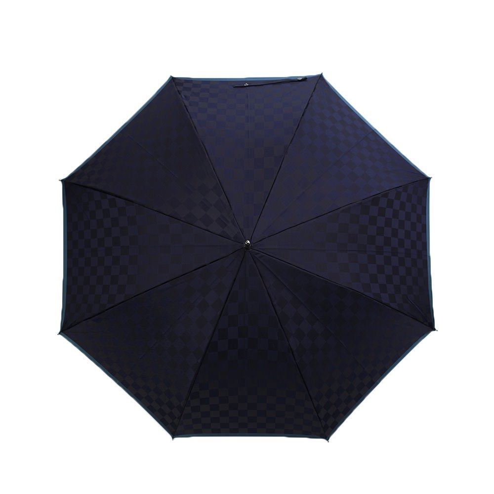市松柄 ジャンプ 耐風骨 長傘 詳細画像7