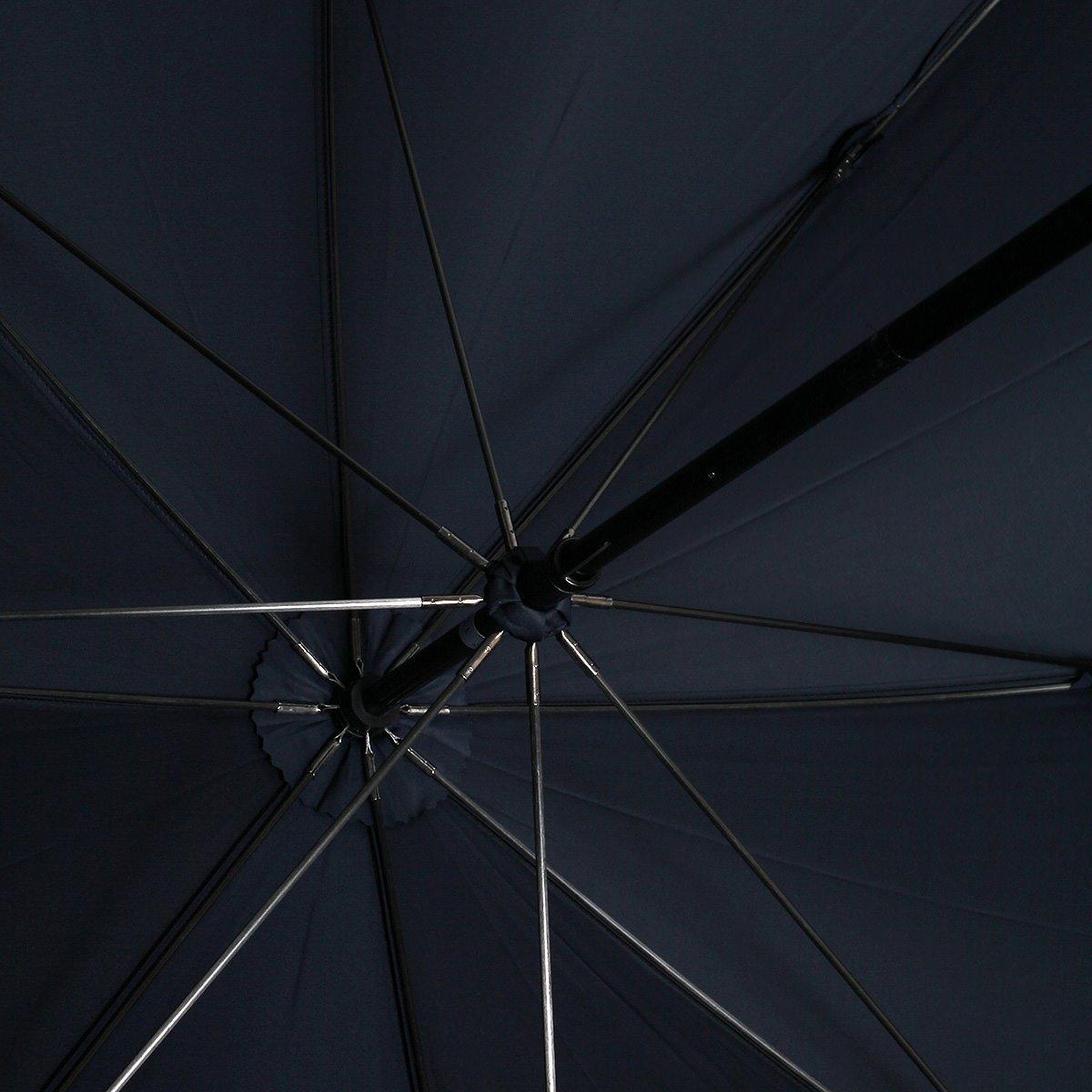 強力撥水 レインドロップ レクタス 大判 長傘 詳細画像11