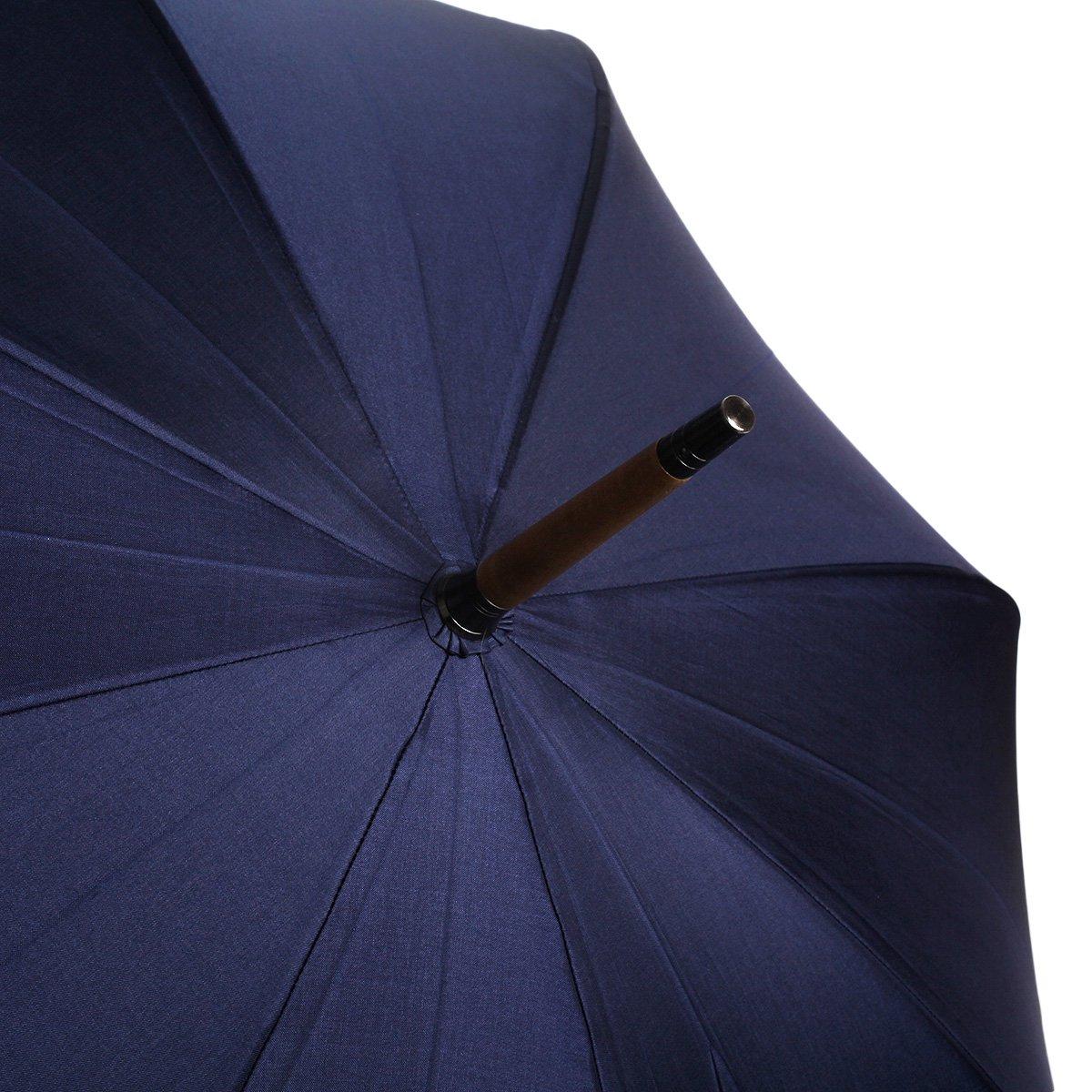 【公式限定】アイアンウッド 富士絹 スリム 長傘 詳細画像10