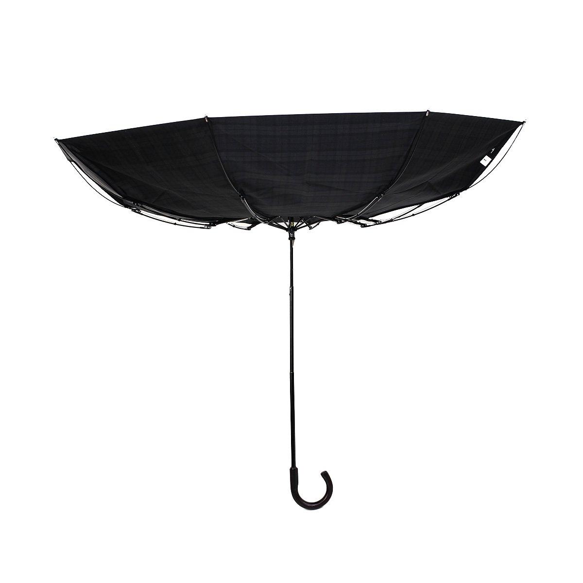 【セール】ダブルストライプ 耐風骨 折りたたみ傘 詳細画像12