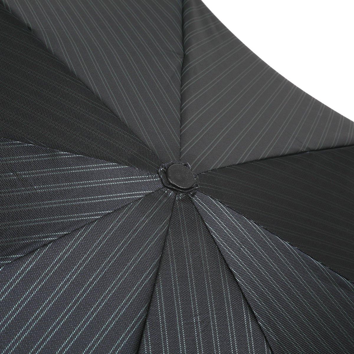 【セール】ダブルストライプ 耐風骨 折りたたみ傘 詳細画像7