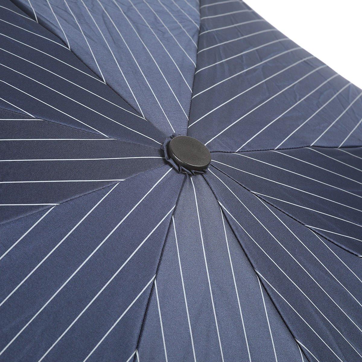 ストライプ 耐風骨 オールシーズン 折りたたみ傘 詳細画像5