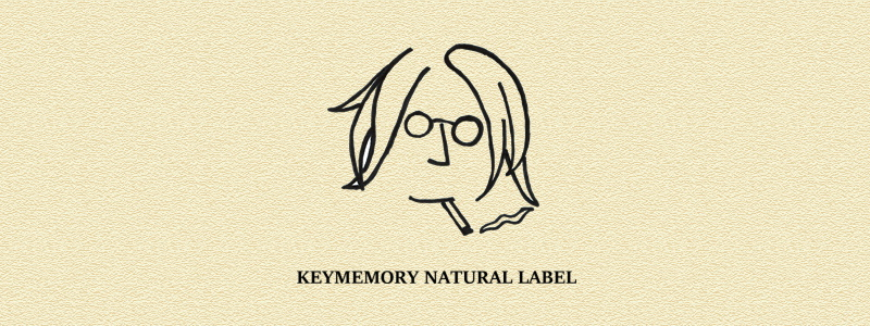 KEYMEMORY NATURAL LABEL