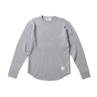 <img class='new_mark_img1' src='https://img.shop-pro.jp/img/new/icons1.gif' style='border:none;display:inline;margin:0px;padding:0px;width:auto;' />Waffle Shirt GRAY