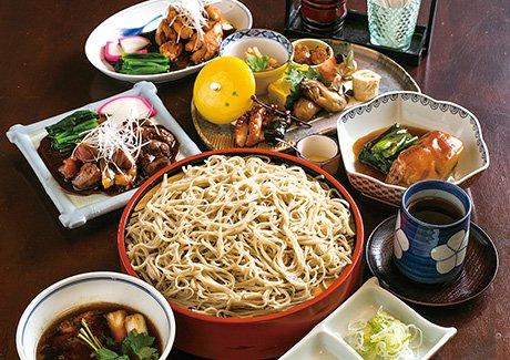 奥村本店 蕎麦御膳(4名様)