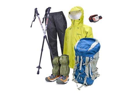 富士登山7点フルセット※レンタル1泊2日