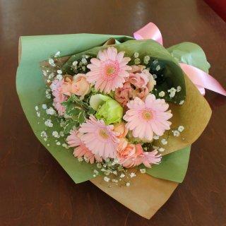 敬老の日に贈るお花【ライトピンク】