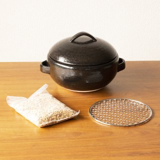 萬古のくんせい鍋セット(網とさくらチップ付き)