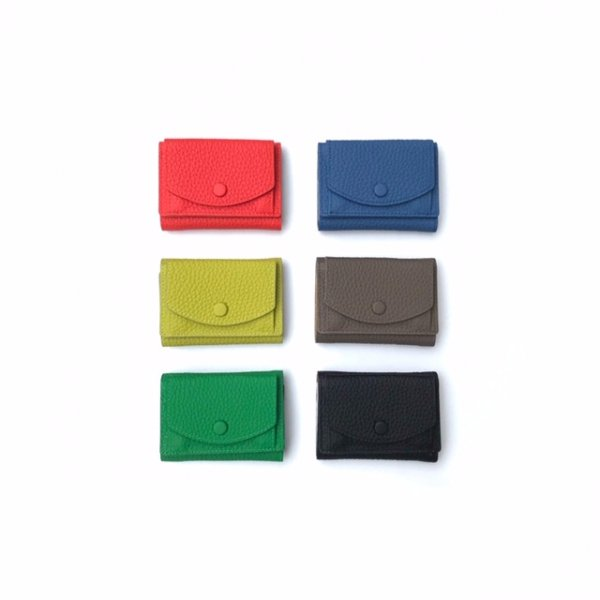 Bicolor mini wallet