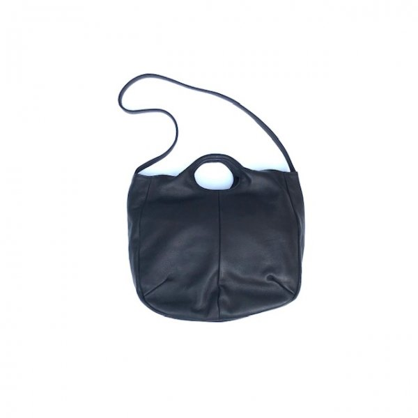 2way soft round tote bag L