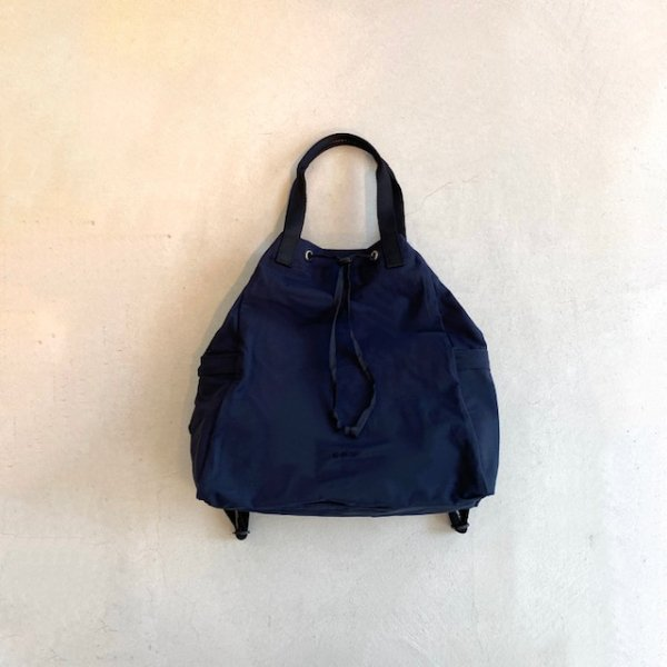 2way cotton nylon tote ruck