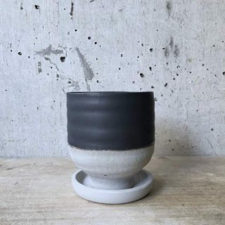 WABI SABI POT BLACK