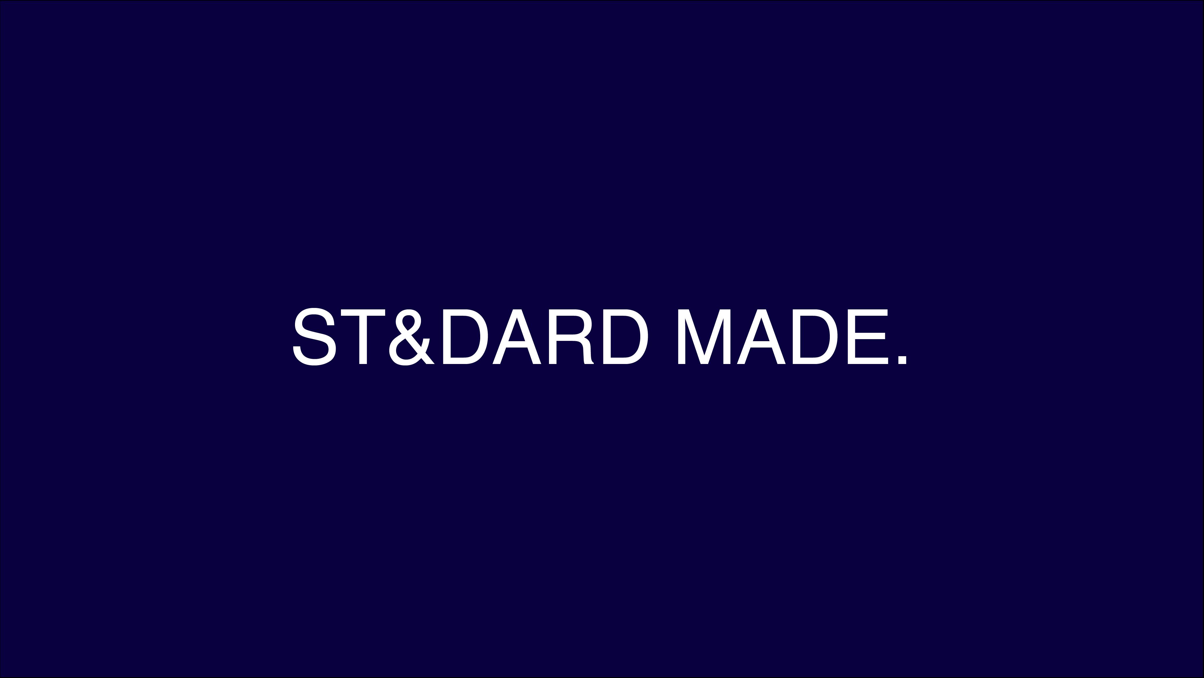 ST&DARD MADE. Online Store