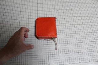 ●グローブ革財布(ハンドメイド)
